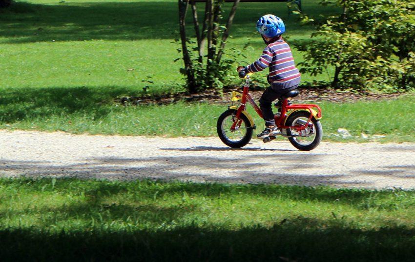 Es ist wichtig, dass Kinder sicher Radfahren können.
