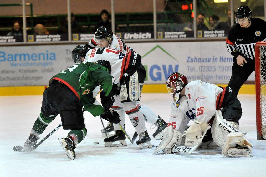 Eishockey Oberliga Nord: HEV-Preussen Berlin 4:7. Feb 2019