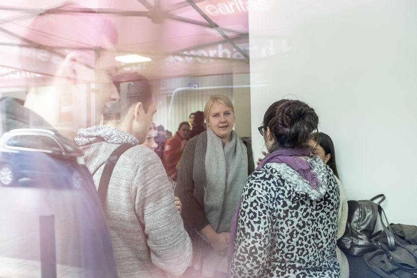 Eröffnung des Quartiersbüros des Caritasverband in Herne (NW), am Dienstag (23.10.2018). Die Räume befinden sich in der Viktor-Reuter-Straße 1 in der Innenstadt.