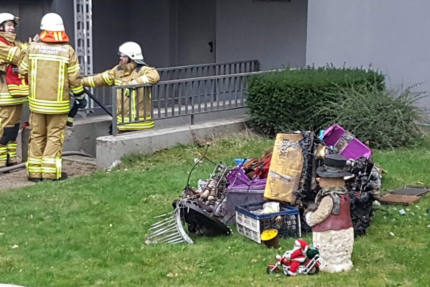 Kellerbrand am Scharpwinkelring.Foto: Daniel Knopp
