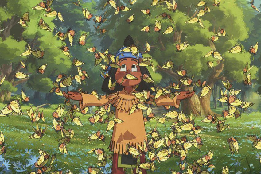 Kinofilm - Yakari: Yakari auf der Schmetterlingswiese.