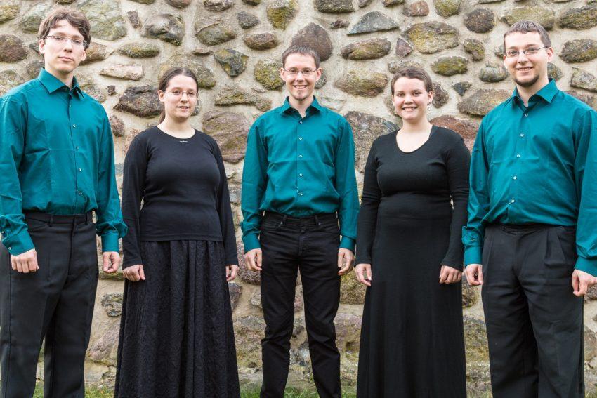 Vokalensemble Essmé tritt in der Kreuzkirche auf.