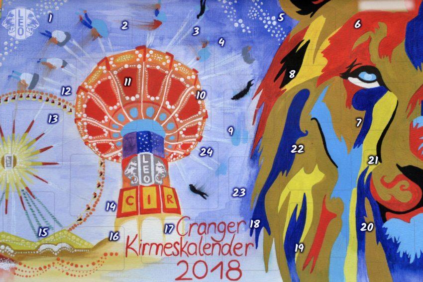 Cranger Kirmes Kalender 2018.