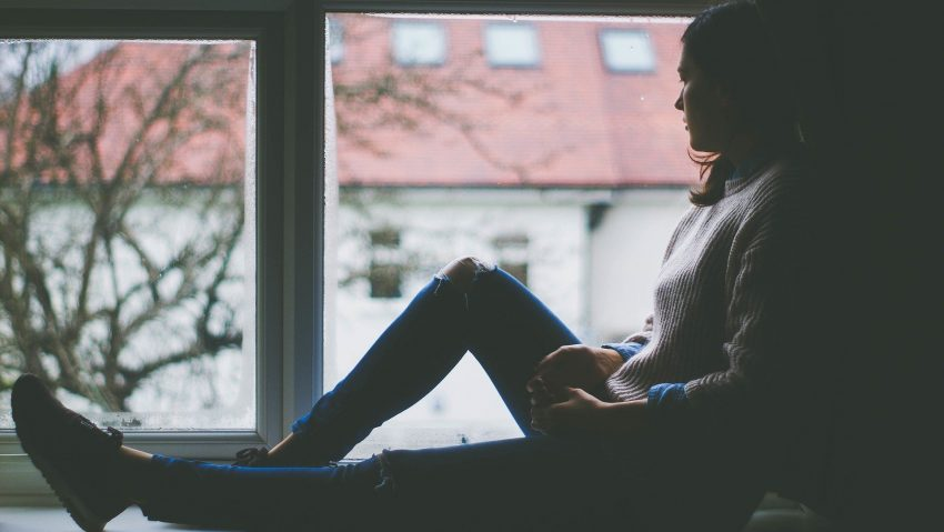 Symbolbilder Einsamkeit und Depression.