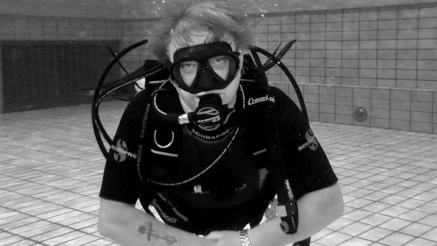 Gerd Biedermann war im LAGO Tauchausbilder und Rettungsschwimmer.