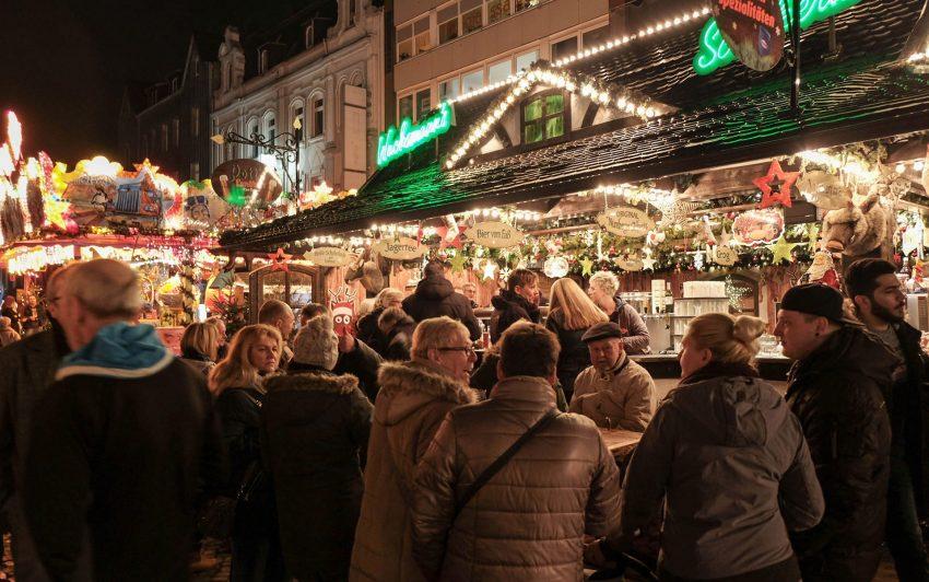 Bei der Eröffnung des Herner Weihnachtsmarktes 2017.