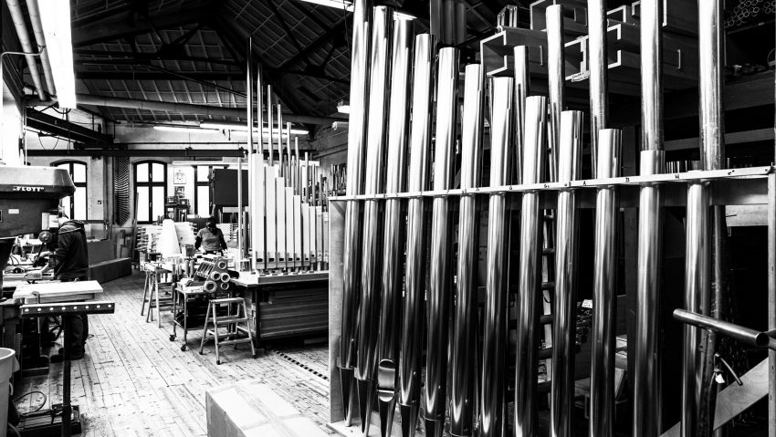 Die Orgelfabrikation Klais/Bonn.