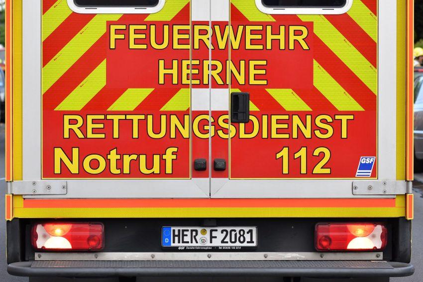 Rettungswagen der Herner Feuerwehr