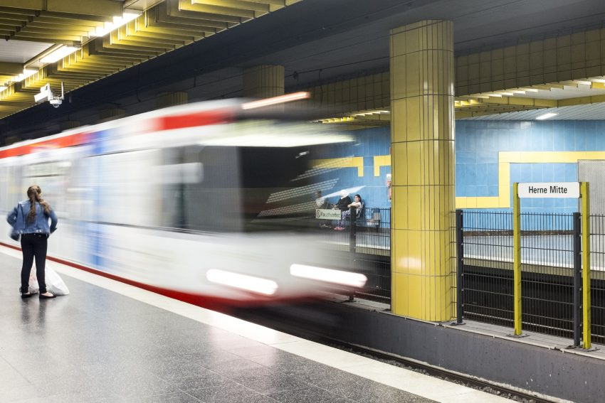 U 35 - U-Bahn.
