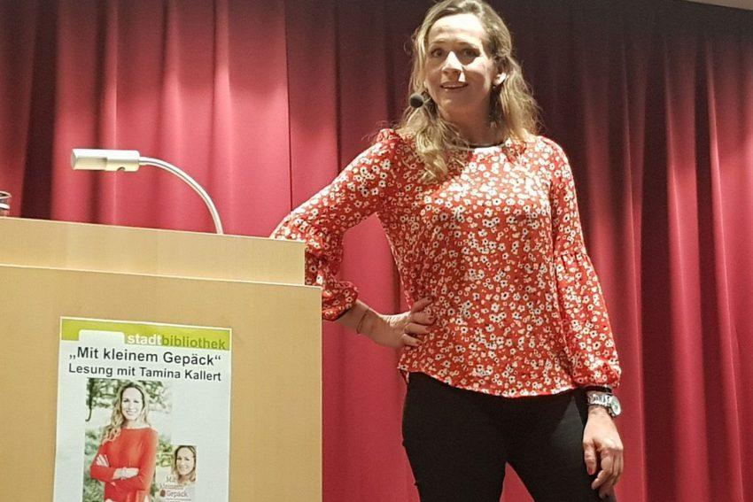 Tamina Kallert - Reisen mit kleinem Gepäck.