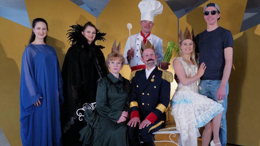 Musikbühne Mannheim zeigt eine moderne Version des Märchens Dornröschen im Kulturzentrum.