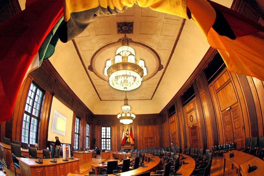 Der Ratssaal im Herner Rathaus.