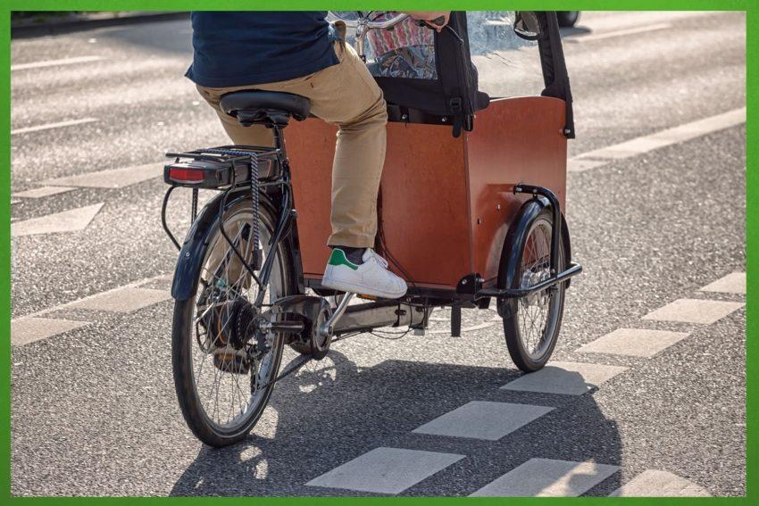 Die Grünen möchten eine Förderung von privaten Lastenrädern.