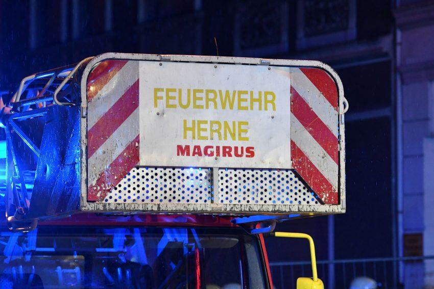 Einsatz Feuerwehr Herne Viktor-Reuter-Straße