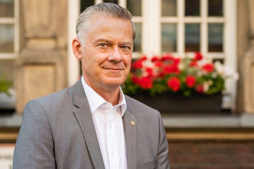 Dr. Friedrich Dybowski, Präsident des Lions Clubs Wanne-Eickel (2020).