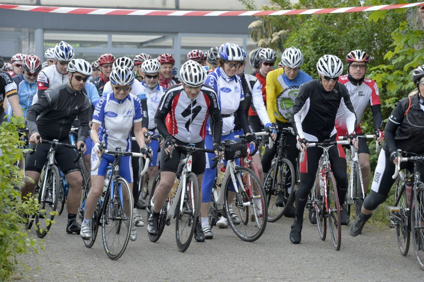 Radsport-Tour der RSG Herne mit Start im Gysenberg-Park.