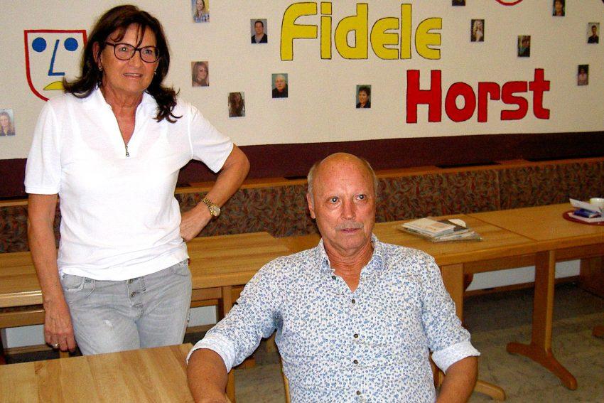 Angelika Keisereck und Wolfgang Trümper - Debütanten bei Fidele Horst.