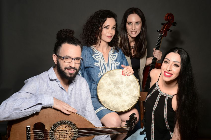 Weltmusik mit Quartetoukan aus Israel.