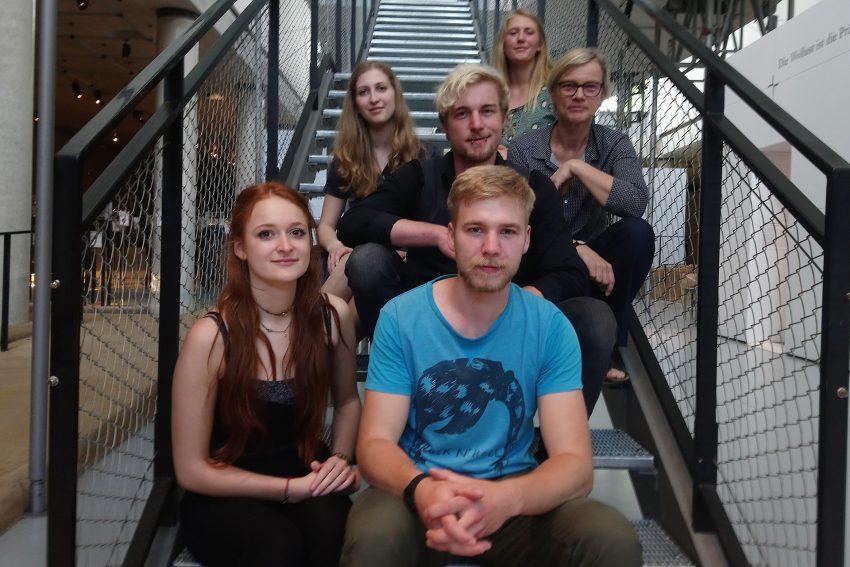 v.l. Oben: Magdalena Schmitz, Joel Ernst, Johanna Overkamp, Claudia Grönebaum, Helen Brose, Jan Breite.