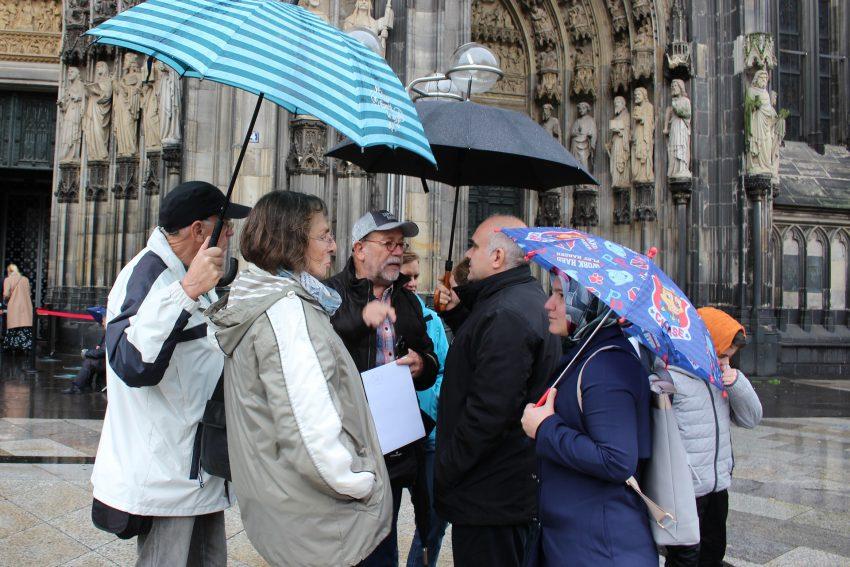Mitglieder Islamische Gemeinde Röhlinghausen und der Ev. Kirchengemeinde Wanne-Eickel besuchten gemeinsam Köln.