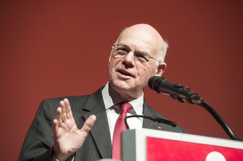 Bundestagspräsident Prof. Dr. Norbert Lammert (CDU) am Freitag (17.2.2017) im Kulturzentrum.