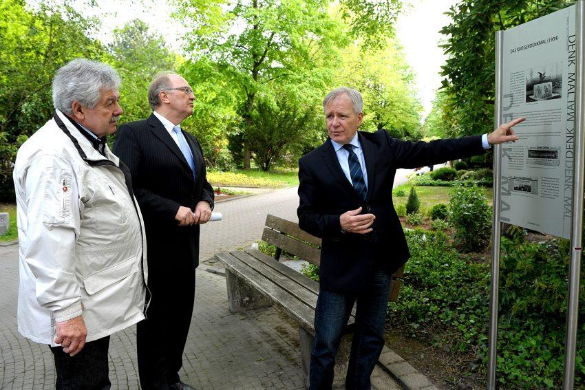 v.l. Manfred Hildebrandt, Egon Steinkamp, Horst Schiereck.