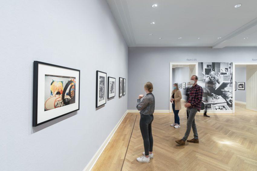 Foto-Ausstellung Where Ideas Are Born im Picasso-Museum.
