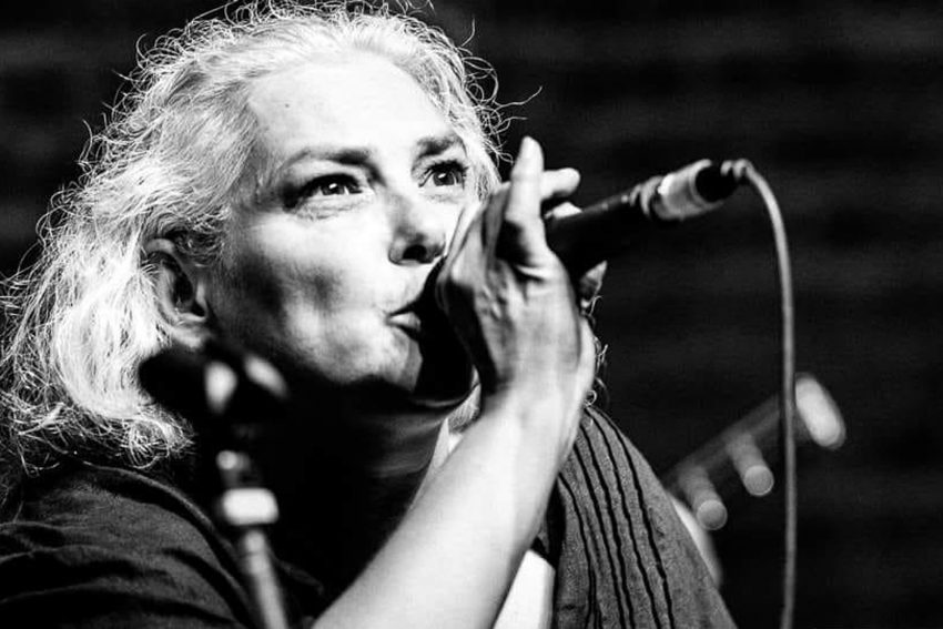 Katja Seidich tritt in der Hülsman-Kultur-Kneipe auf.