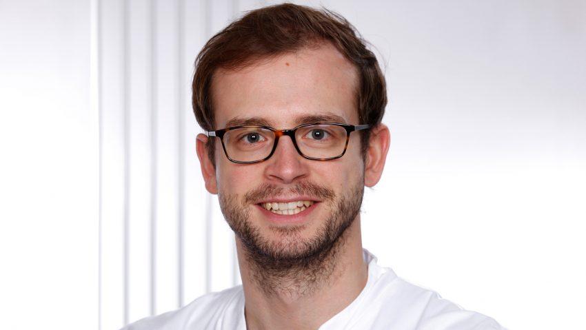 Dr. Moritz Reike, Assistenzarzt der Klinik für Urologie des Marien Hospital Herne.