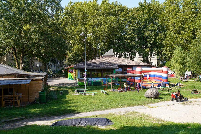 Sonderaktion auf dem Abenteuerspielplatz Hasenkamp zum Weltkindertag