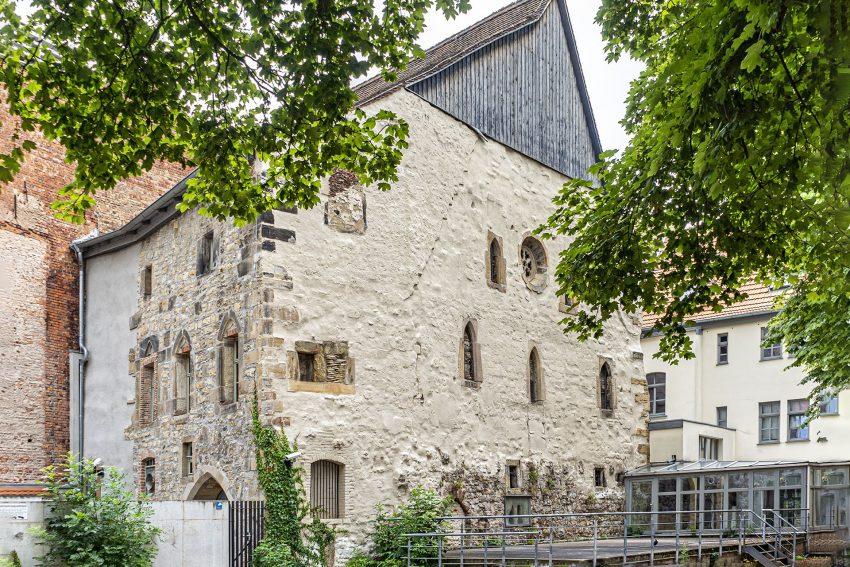 Die Alte Synagoge in Erfurt.