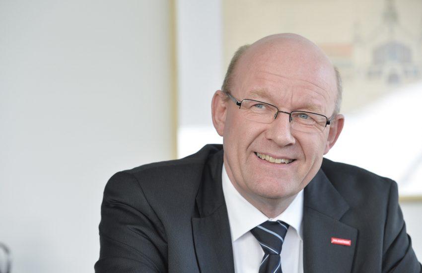 Berthold Schröder, Präsident der Handwerkskammer (HWK) Dortmund.