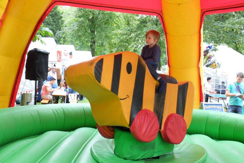 Das 6. Herner Kulturfestival im Schlosspark Strünkede.