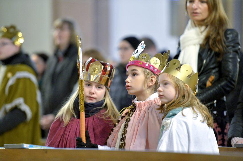 Sternsinger der katholischen Kirchengemeinde Herz Jesu
