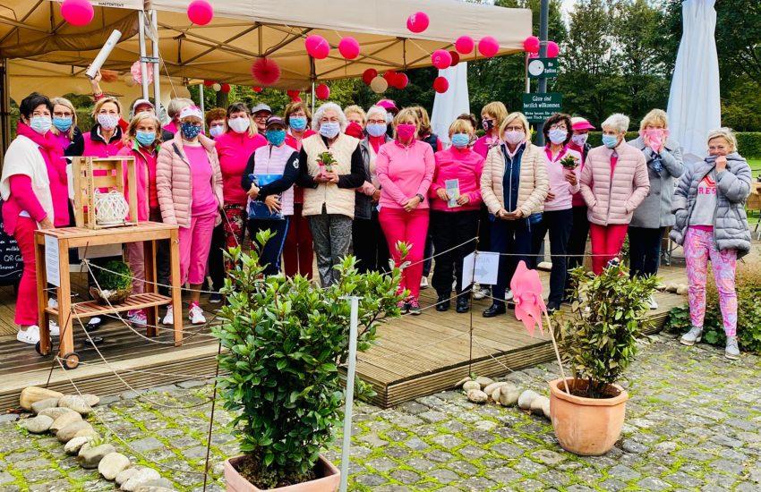 Die Pink Ribbon Deutschland Damentag-Serie.