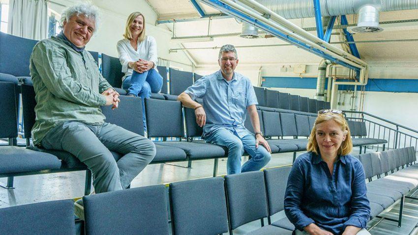 Die Organisatoren (v.li.) Christian Strüder, Claudia Stipp, Thomas Witt, Gaby Kloke.