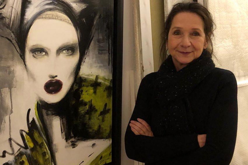 Die Künstlerin Margarete Gockel.