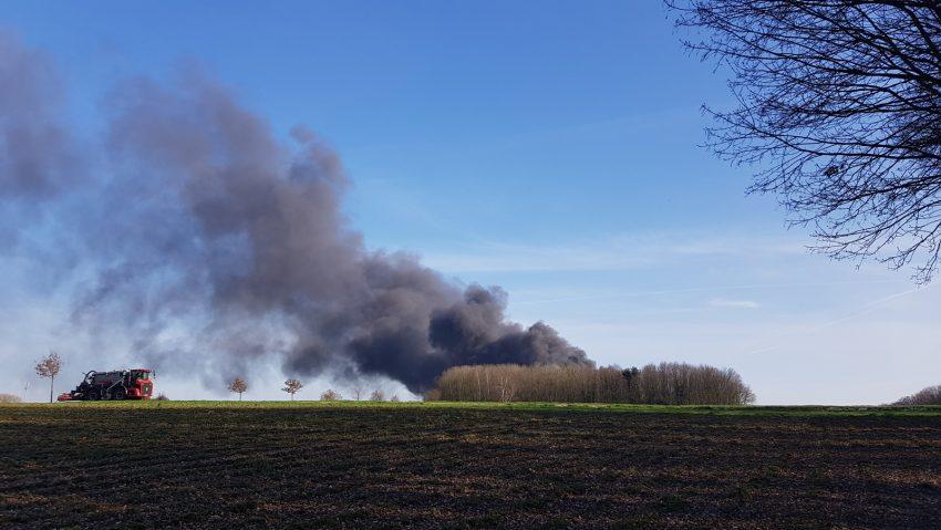Großbrand Schweinemast 18.3.2020
