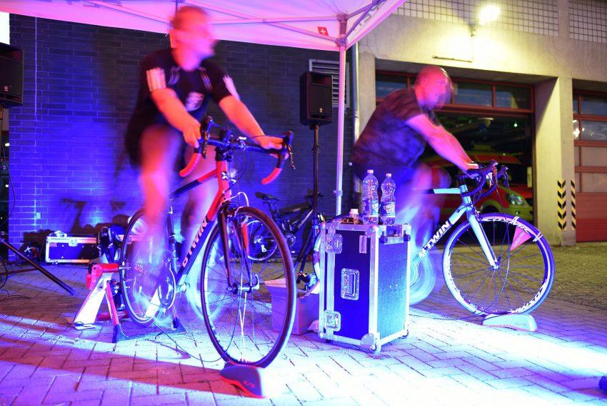 12. Benefiz-Radeln für das Lukas-Hospiz 2019 24-Stunden-Marathon der Herner Feuerwehr zugunsten Lukas-Hospiz