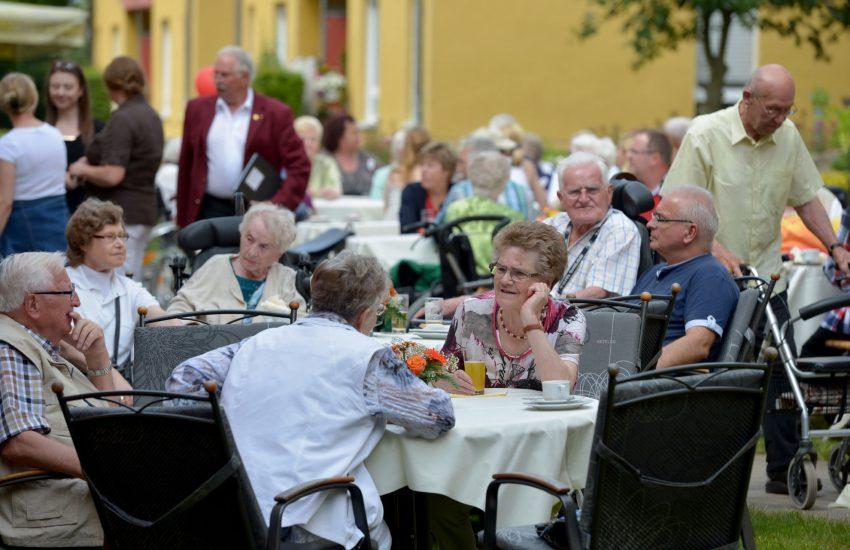 Sommerfest des ASB Begegnungs- und Pflegezentrums Mont-Cenis.