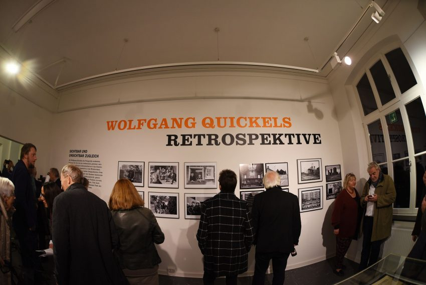 Eröffnung Retrospektive Wolfgang Quickels