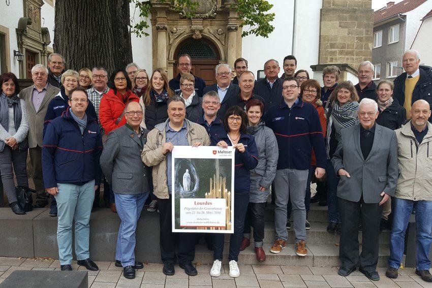 Organisatoren der Malteser-Wallfahrt nach Lourdes.