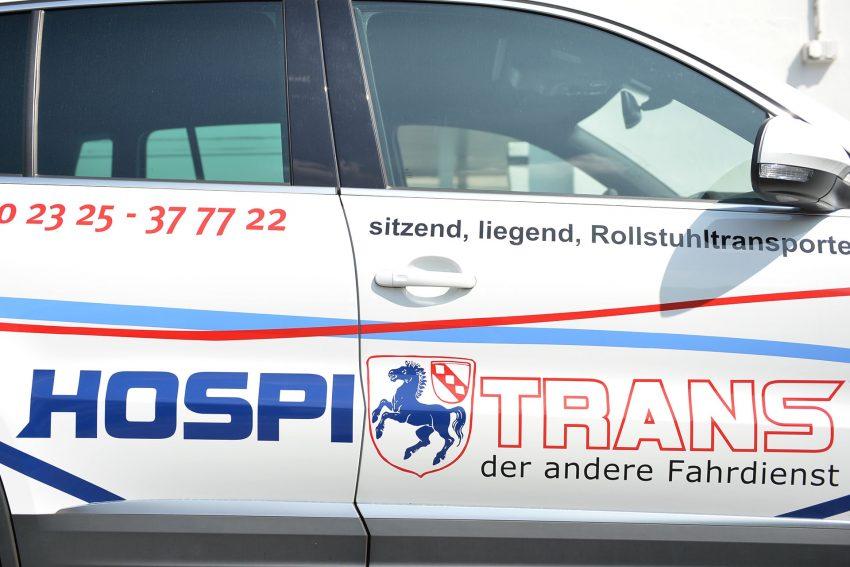 Hospitrans der Partner für Kranken- und Rollstuhlfahrdienste in Herne.