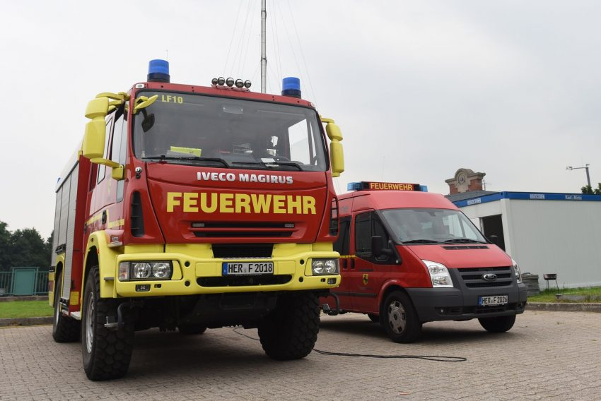 Herner Feuerwehr auf der Cranger Kirmes
