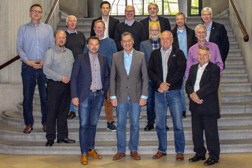 Fraktionsvorsitzende im Herner Rathaus.