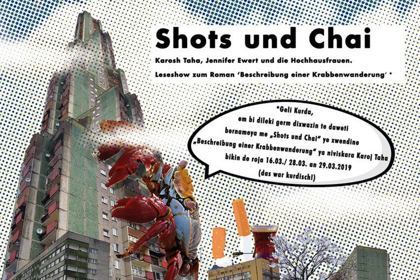 Visuelle Gestaltung Patrick Praschma: Shots und Chai.