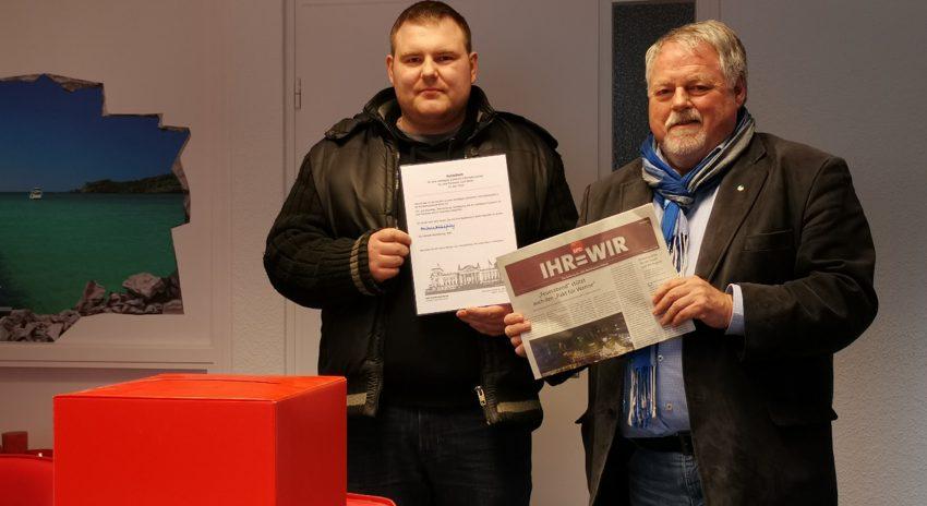 v.l. Sebastian Bütthof und Volker Bleck.