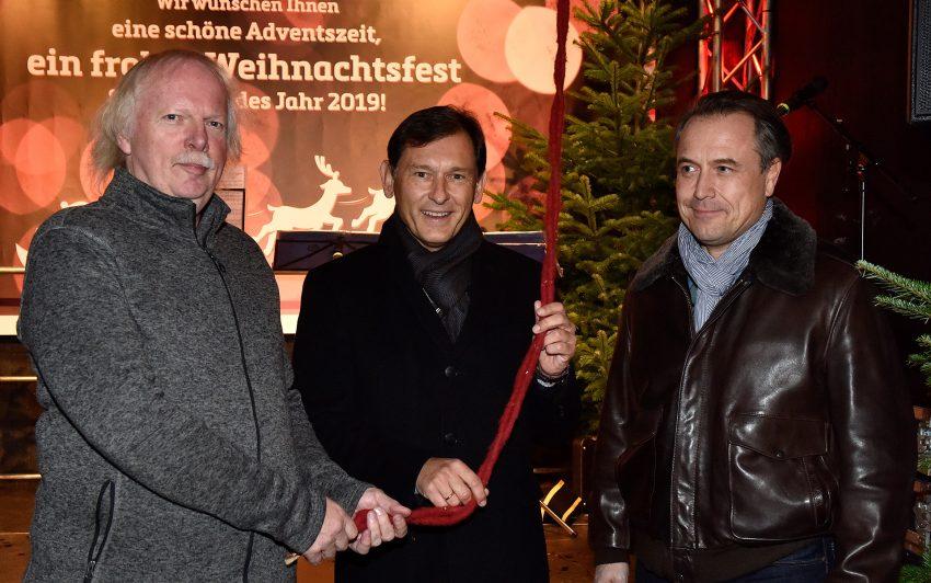 v.l. Norbert Menzel, Frank Dudda, Holger Wennrich.