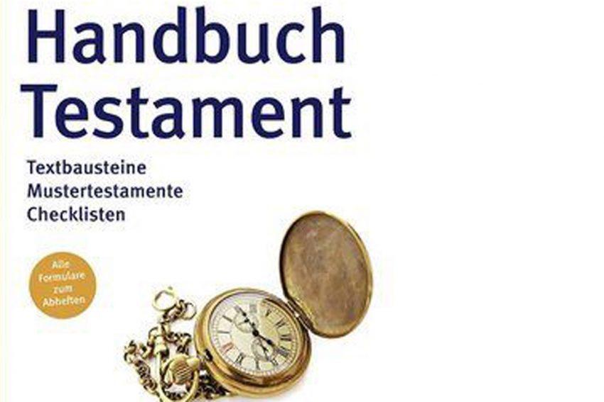 Handbuch zum Testament.