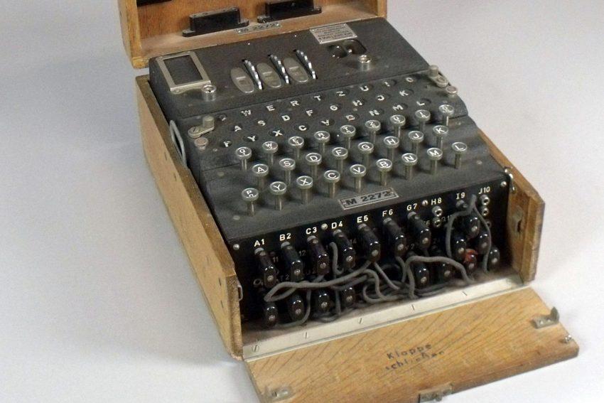 Chiffriermaschine Enigma M3.